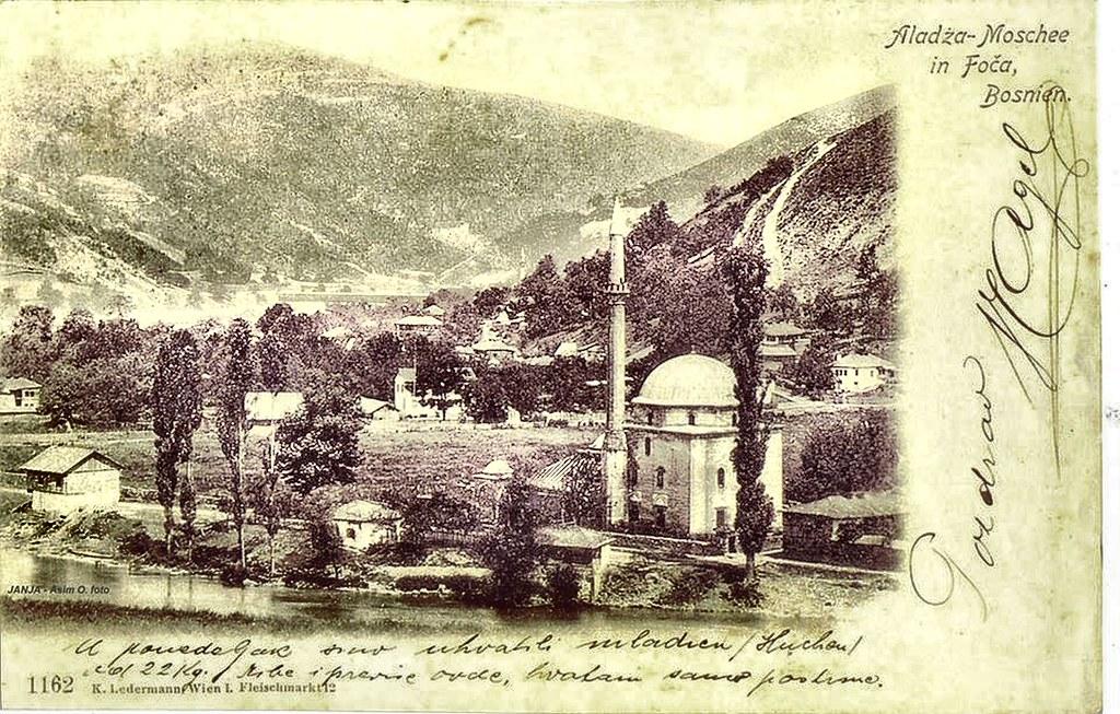 FOČA (stara razglednica)