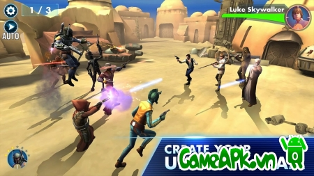 Star Wars™: Galaxy of Heroes v0.1.108157 hack cho Android