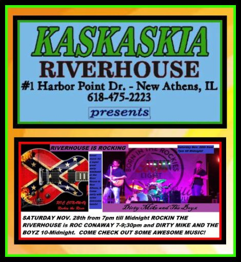 Kaskaskia Riverhouse 11-28-15