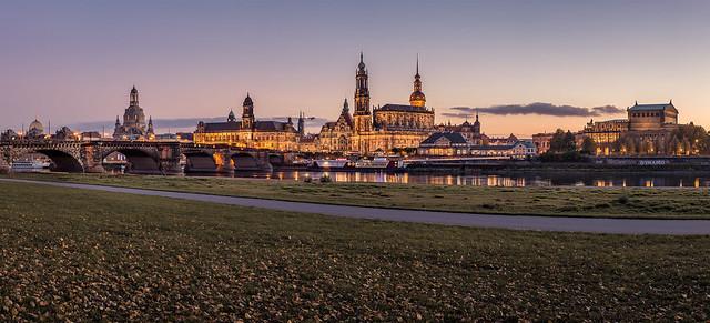 Golden Hour in Dresden - Saxony
