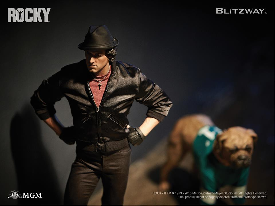 "BLITZWAY 《洛基續集》1/4 比例""洛基·巴布亞""雕像"