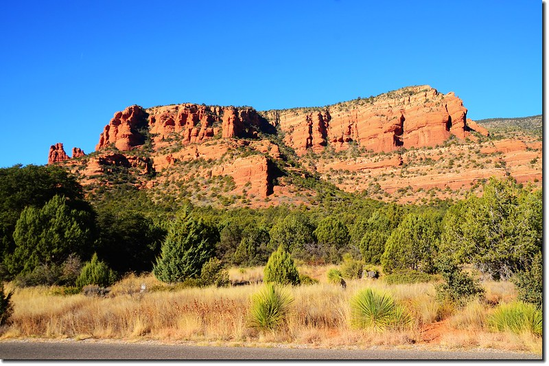 The Red Rocks are taken from the Fay Canyon Trailhead