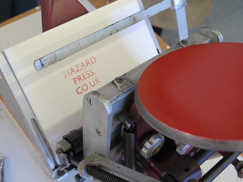 Hazard Press, Jeremy Dixon