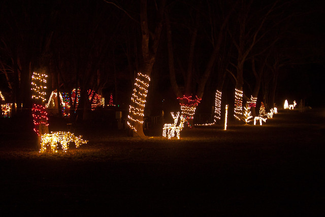 Middleboro Festival of Lights 2015