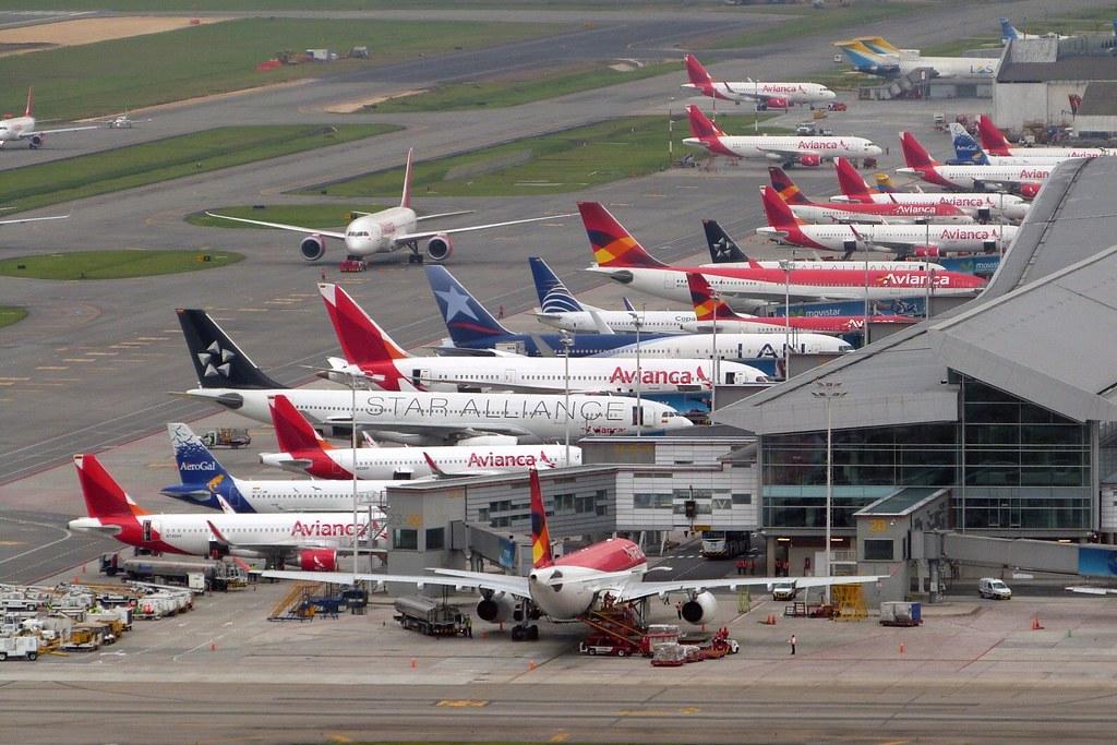 Bogot aeropuerto internacional eldorado skbo bog for Puerta 6 aeropuerto el dorado