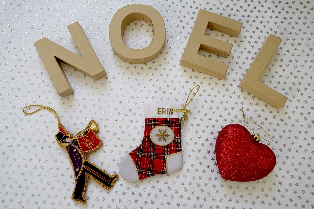 Noel Christmas Ornaments