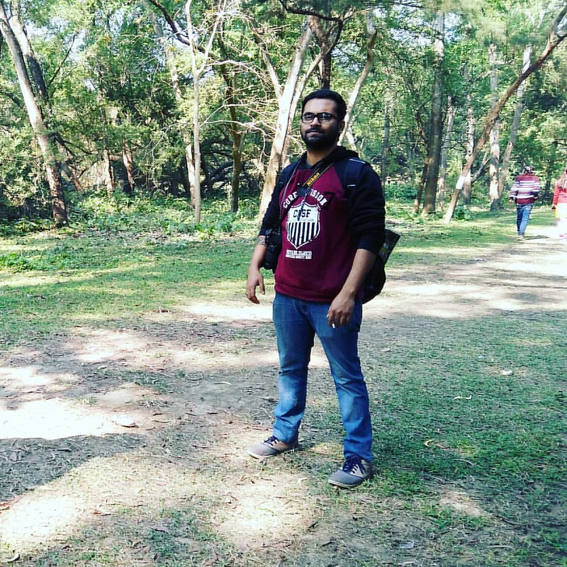 Its a fun day after the hectic corporate days. #instanature #instapost #green #sabujdwip #corecommittee