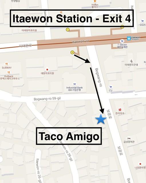 Taco Amigo Directions