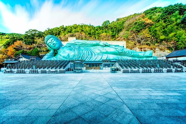 Nanzoin sleeping buddha : HDR