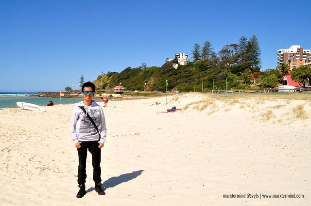 marxternind at Kirra Beach Gold Coast