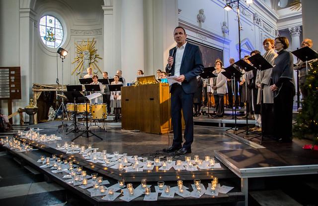 Imagine, Kerstconcert met het Vlaams Radio Koor o.l.v. Kurt Bikkembergs @ Abdijkerk Vlierbeek, Kessel-Lo, Leuven