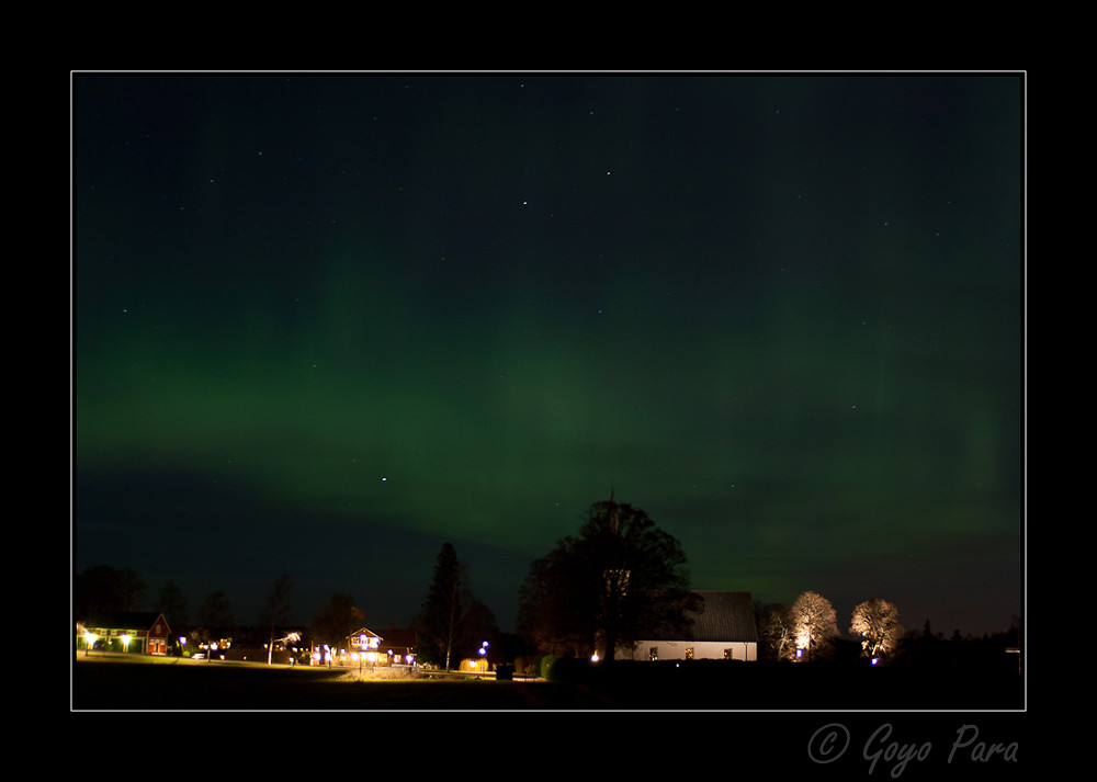 Aurora boreal 21/12/2015