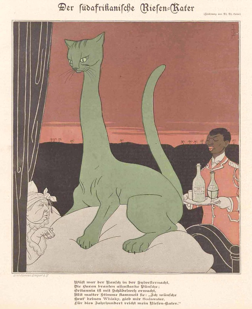 Thomas Theodor Heine - The South African Giant Hangover, 1899