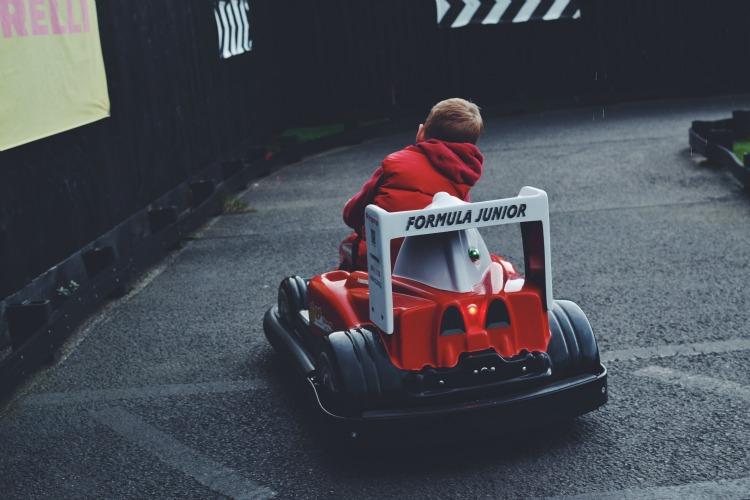 haynes go kart racing