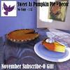 [ free bird ] Sweet As Pumpkin Pie Decor Ad - Subscribe-O Nov