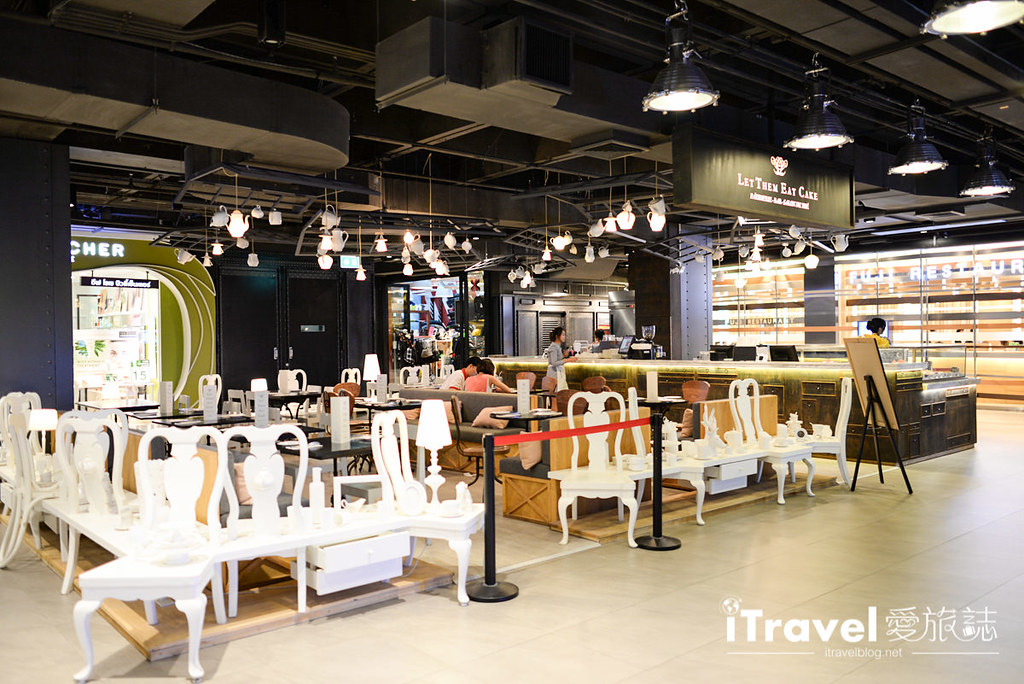 《曼谷美食餐厅》Siam Center Foodrepublic 百货公司美食街 ,异国料理与平价美食集散地。