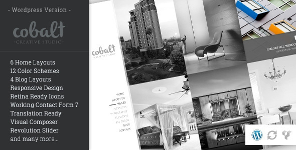 Cobalt v1.1.2 - Responsive Architect & Creatives WP Theme
