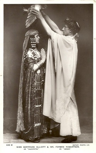 Forbes-Robertson and Gertrude Elliott in Caesar and Cleopatra