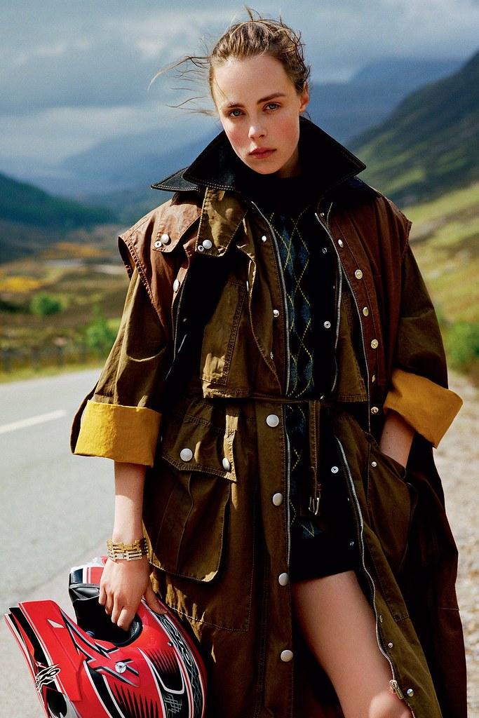 Эди Кэмпбелл — Фотосессия для «Vogue» UK 2016 – 9