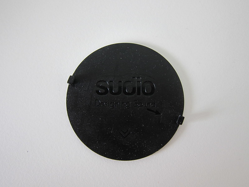 Sudio Cap - Black Marble - Back