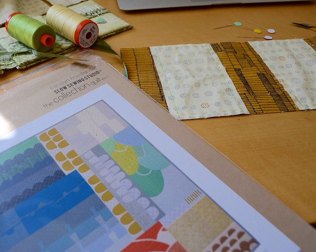 Appliqué project - the collection quilt