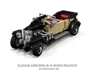 Daimler-Mercedes 28/95 Sports Phaeton - 1924 Sindelfingen