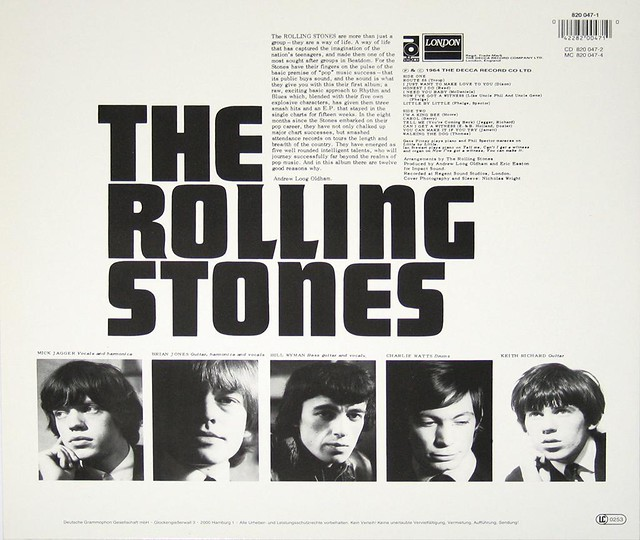 ROLLING STONES SELF-TITLED re-issue with Barcode