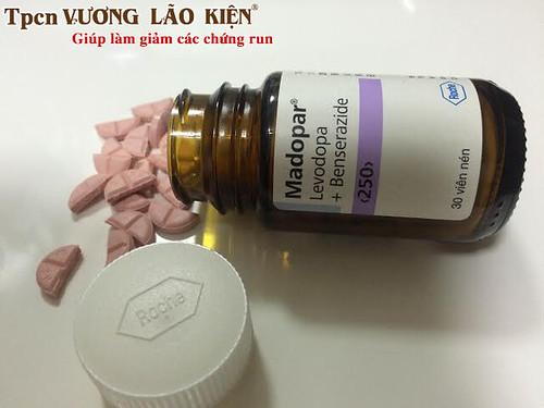 Thuốc Mardopar được dùng để điều trị bệnh parkinson