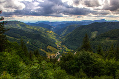 View from Feldberg, Black Forest