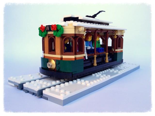 Winter Village Tram