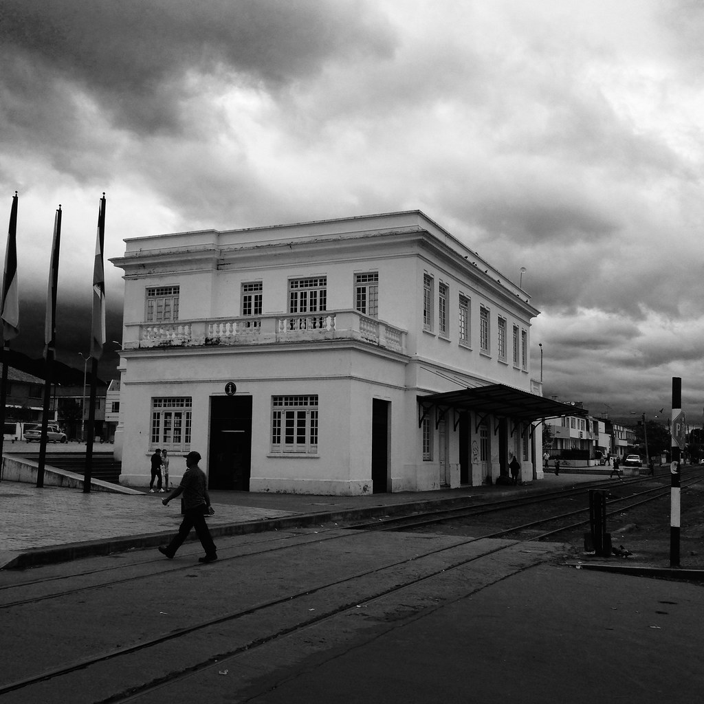 Sabana train station at Zipaquira