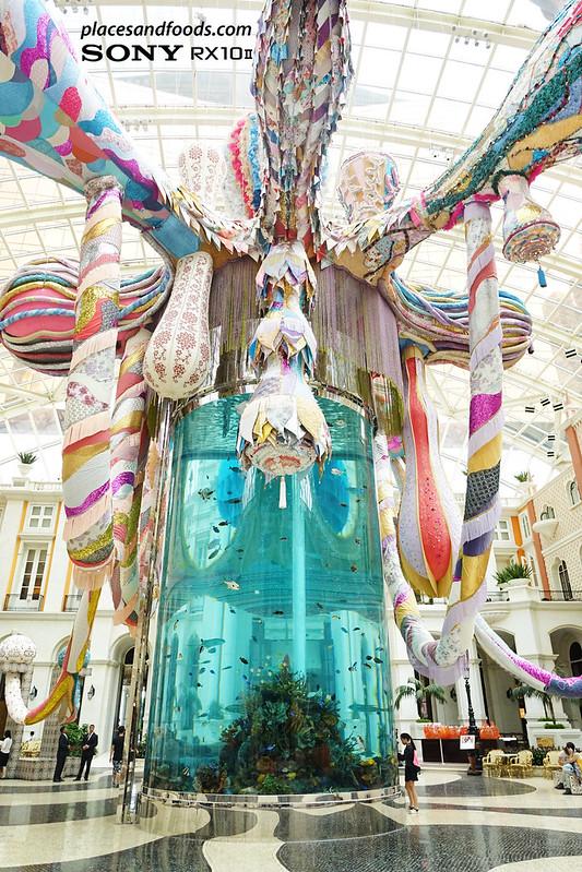 MGM Macau Valkyrie octopus