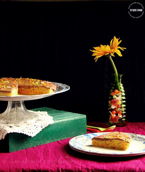 Microwave Carrot Cake Eggless