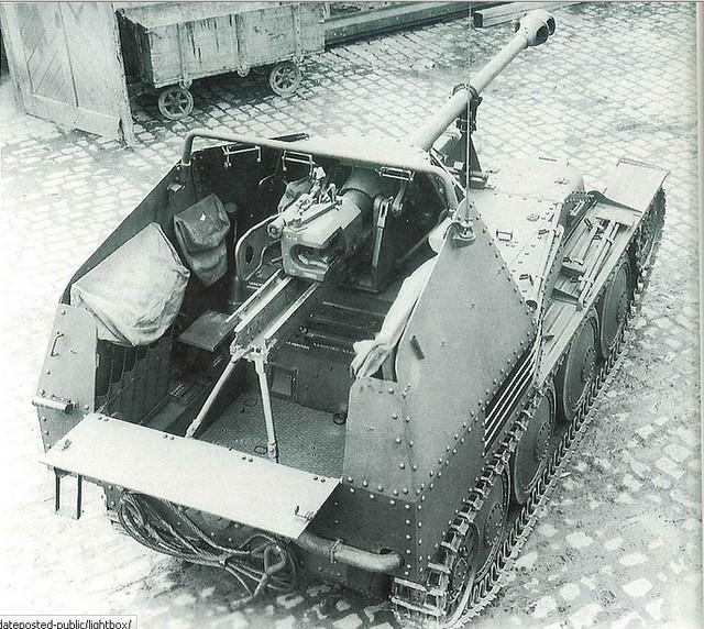 Panzerjäger 38 (t) 7,5 cm Pak 40/3 Ausf.M Marder III