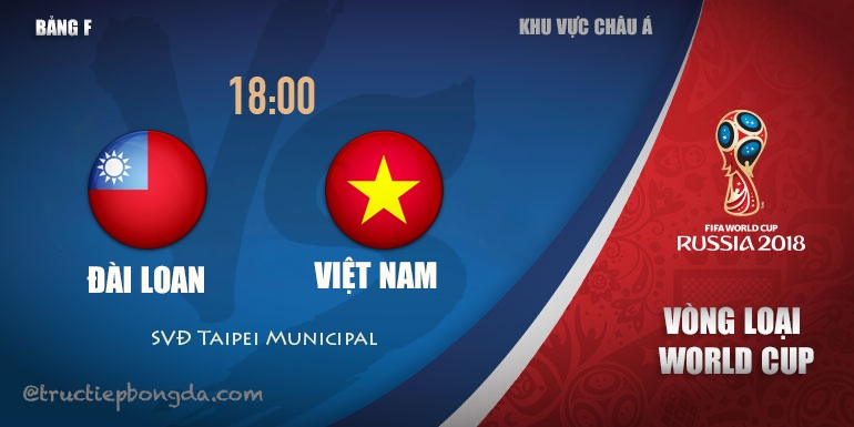 Đài Loan vs Việt Nam