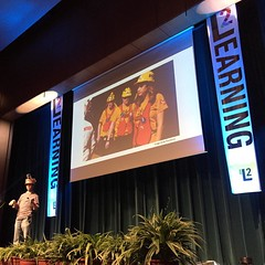 Love the nerd-tastic energy from Ringo this morning! #learning2