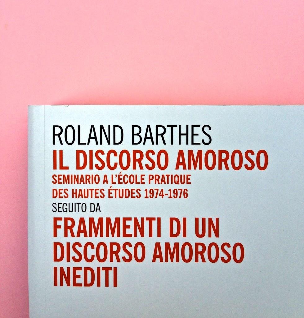 Roland Barthes, Il discorso amoroso. Mimesis 2015. Copertina (part.), 4
