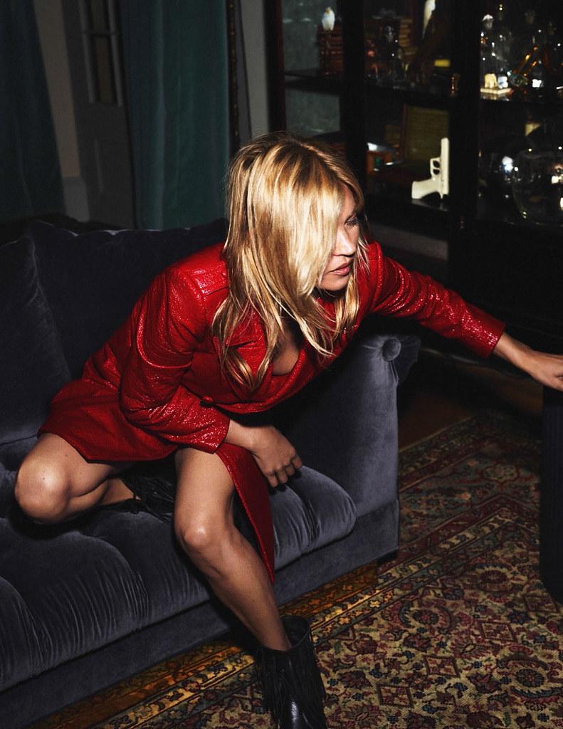 Кейт Мосс — Фотосессия для «Vogue» FR 2015 – 8