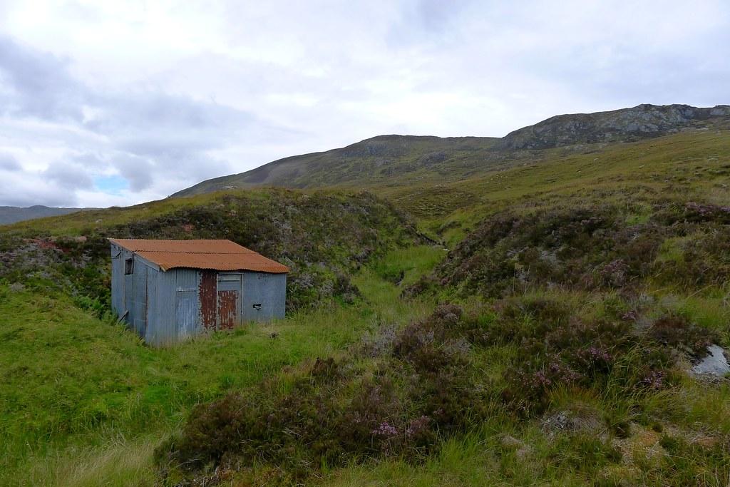 Tin Hut below Carn Glas lochdarach