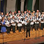 Der Chor der Banater Schwaben Karlsruhe unter der Leitung von Hannelore Slavik. Foto Diethard Dietrich