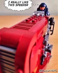 #LEGO_Galaxy_Patrol #LEGO #StarWars #Rey #Speeder #LEGOstarWars @lego_group @lego @bricknetwork @brickcentral @starwars