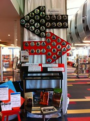 Christchurch Photo Hunt display at New Brighton Library