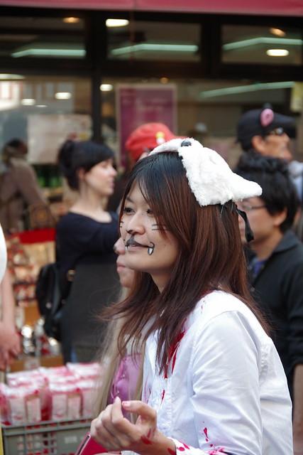 Cat's Halloween Parade in Kagurazaka 2015 16