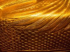 Golden sarcophagus detail