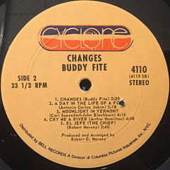 BUDDY FITE:CHANGES(LABEL SIDE-B)