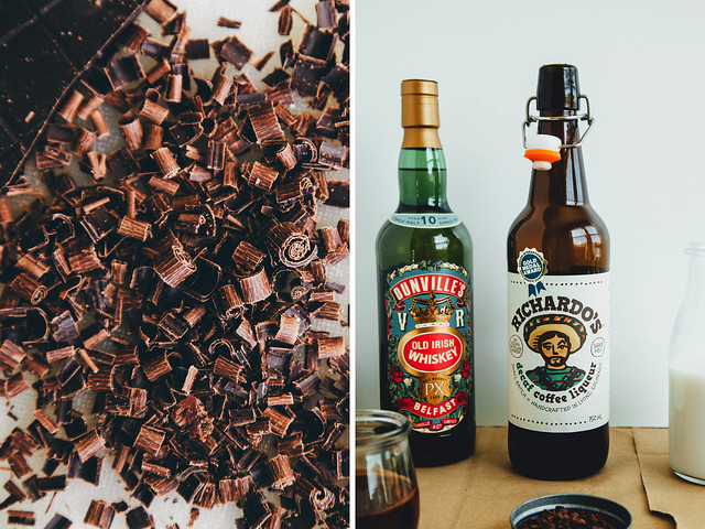Chocolate and booze