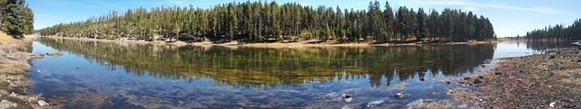 Yellowstone River panorama