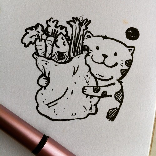 18 for Inktober 2015