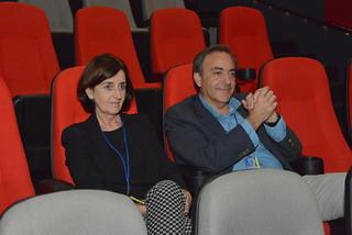 María Jesús Alguea y Pepe Barrena