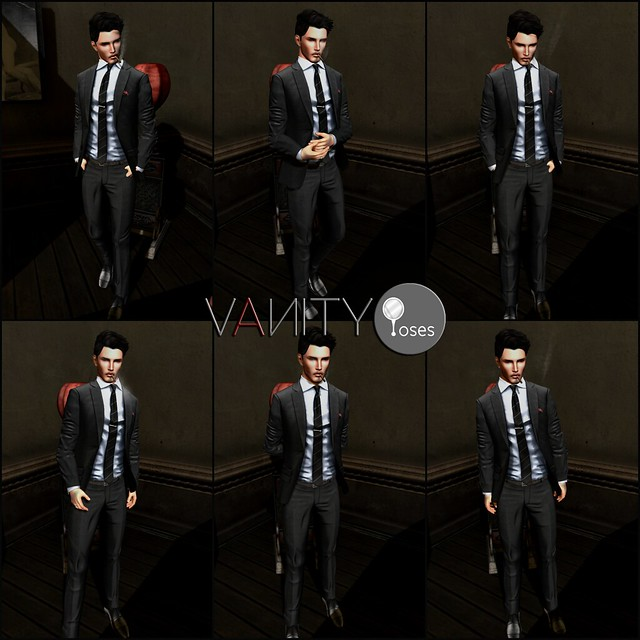 Vanity Poses - Casual Male